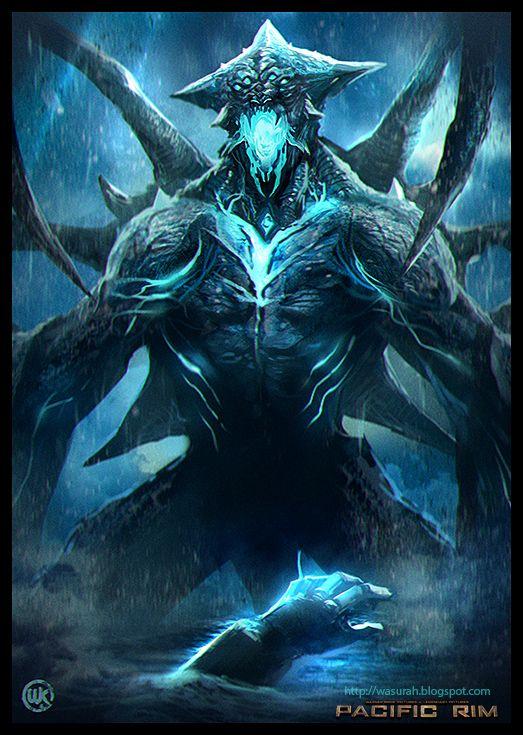 Kaiju by wasurah.deviantart.com on @DeviantArt