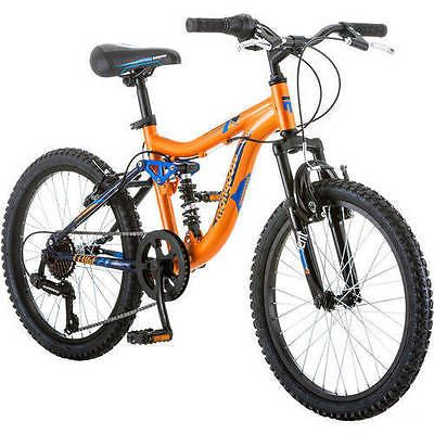 """25044 bicycles Mongoose Boys Mountain Bike Bicycle 20"""" Aluminum Frame Full Suspension NEW  BUY IT NOW ONLY  $170.88 Mongoose Boys Mountain Bike Bicycle 20"""" Aluminum Frame Full Suspension NEW..."""