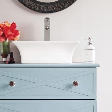 En étapes: transformer une commode en meuble-lavabo - En étapes - Décoration et rénovation - Pratico Pratique