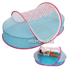 New Baby Bed Mosquito Net Baby Tent Foldable Portable Safety Multi-Function N4U8