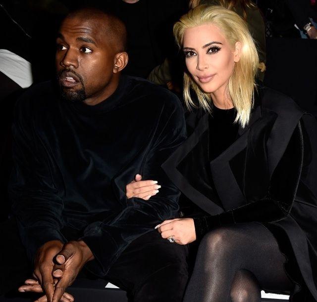 Kim Kardashian Debuts Platinum Blonde Hair www.winwithmtee.com