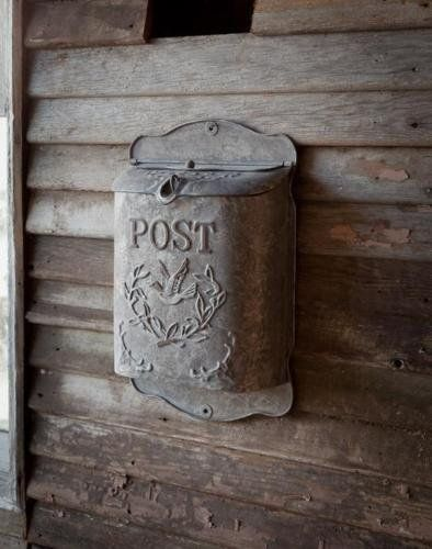 21 best lighting outdoor wall images on pinterest for Mini tin mailboxes for crafts