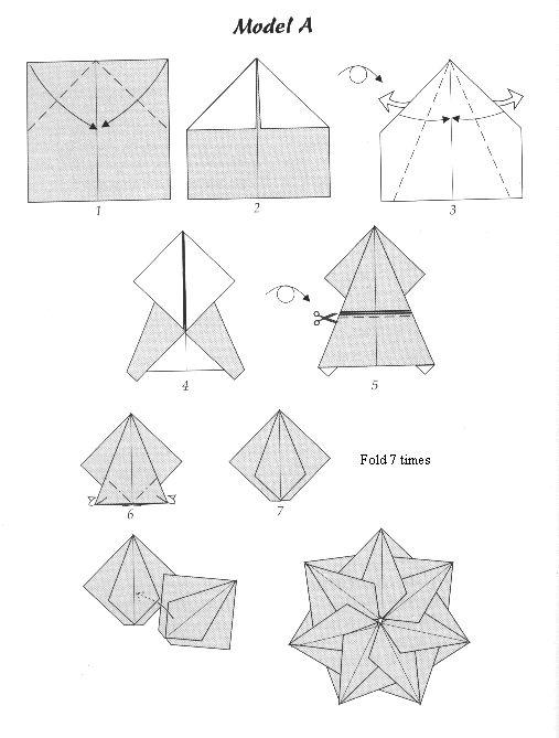 Teabag origami http://www.angelfire.com/art/teabagfolding/foldings.html