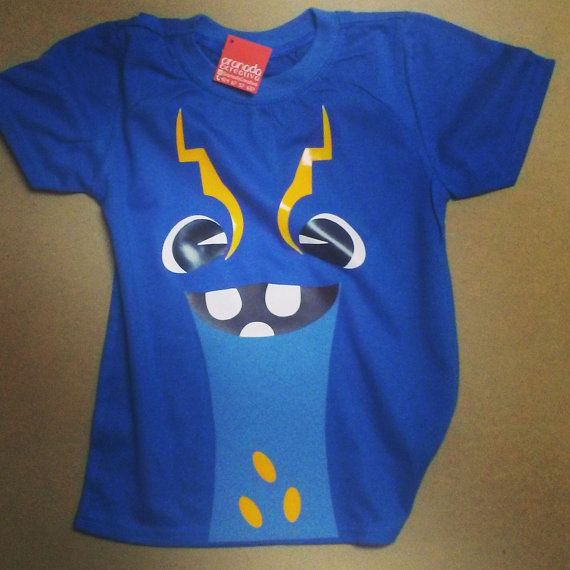 Electroshock Slugterra Kids Tshirt by GranadaCreativa on Etsy