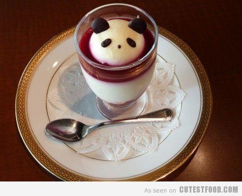 Panda Cheesecake :): Pandas Food, Food Style, Desserts Ideas, Food Ideas, Pretty Food, Food Art, Pandacheesecak, Fun Pandas, Pandas Cheesecake
