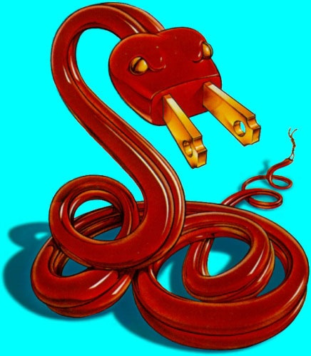 Thomas gieseke electric snake advertising safety Simplisafe z wave