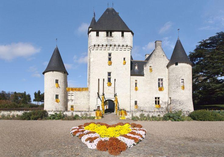 Festival des Fleurs d'Automne au Château du Rivau, Lémeré (37120), Indre-et-Loire