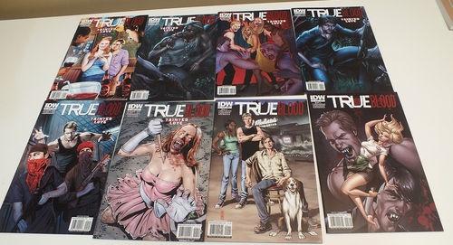 True Blood 1 2 3 4 5 6 Tainted Love 1 2 3 4 5 6 IDW Set Run   eBay  True Blood -sarjakuva! <3