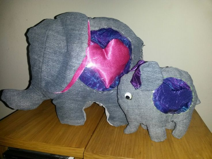 Elephants...filled with love.