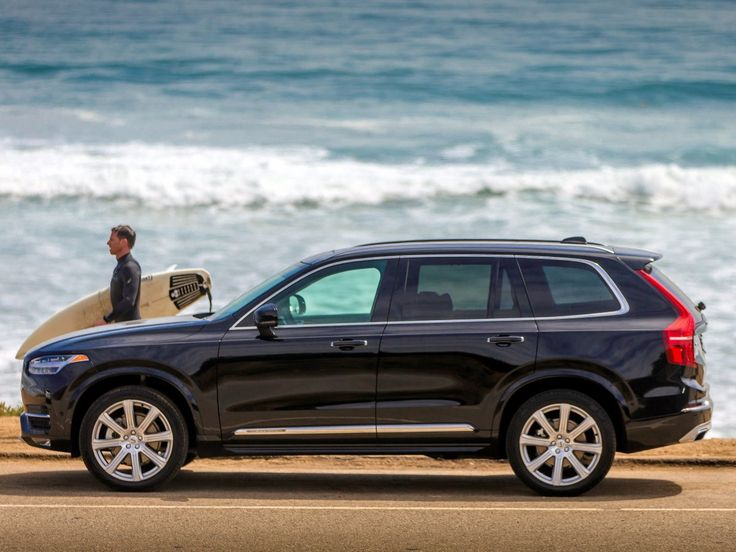 1. The Volvo XC90 is a roomy and luxurious SUV, but it also has several high-tech features. For example, there are four hidden cameras to provide 360-degree views when driving and parking.