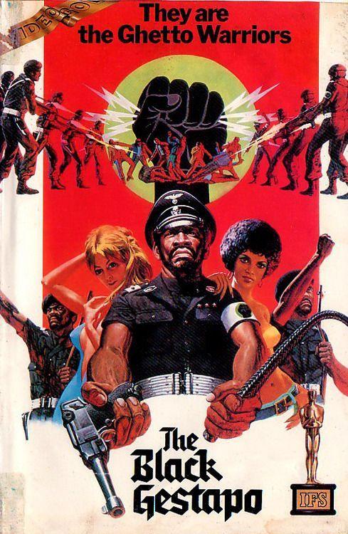 Best Film Posters : The Black Gestapo