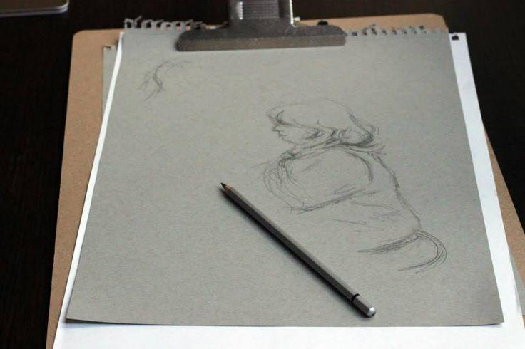 A figure in progress.