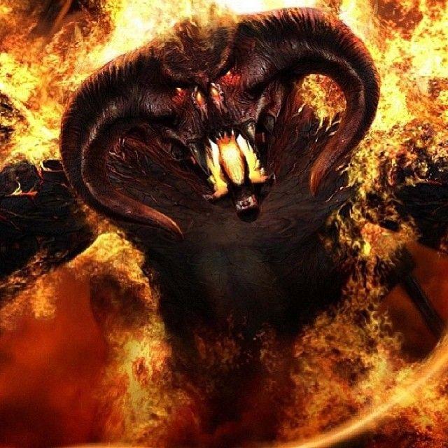Balrog Demon Firee Moria Lordoftherings Fellowship Regram Via Lordoftherings Full Hd Wallpaper Wallpaper Images Hd Hd Wallpaper