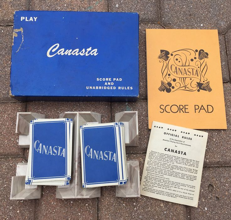 how to play canasta with two players