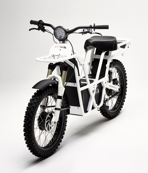 Ubco 2x2 is an electric utility bike that uses dual electric drive to help you with your work outdoors.