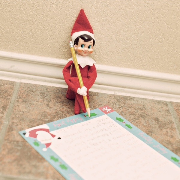 Elf on the Shelf idea for kids who are misbehaving -- Dear (name), Last night when I went back to the North Pole, I didnt have a lot of nice things to tell Santa. Santa was sad to hear about your bad behavior. (List specifics if needed).  Remember... good behavior puts you on the nice list and bad behavior puts your name on the naughty list so be good for goodness sake!  Love, Mr. Elf holidays