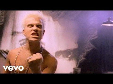 Billy Idol - Hot In The City - YouTube