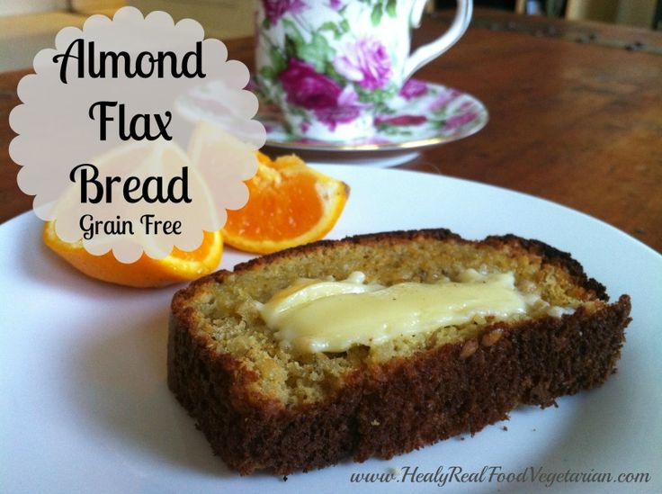 almondflaxbread -*1 1/2 cups blanched almond flour *1/4 cup ground flax seeds *1 tbsp whole flax seeds 1/2 tsp unrefined sea salt 1/2 tsp baking soda *4 eggs beaten *1/2 tsp raw cider vinegar
