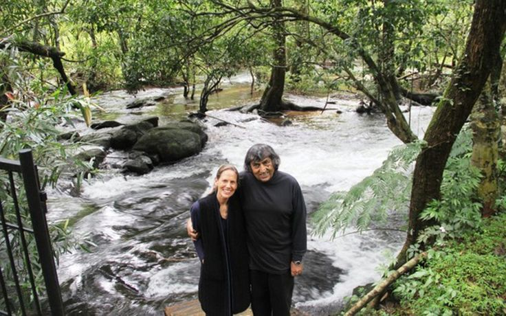 This couple reforested 300 acres of India's barren land, and it is now likely one of India's largest and most diverse private wildlife sanctuaries.  Definitely an inspiring attitude!