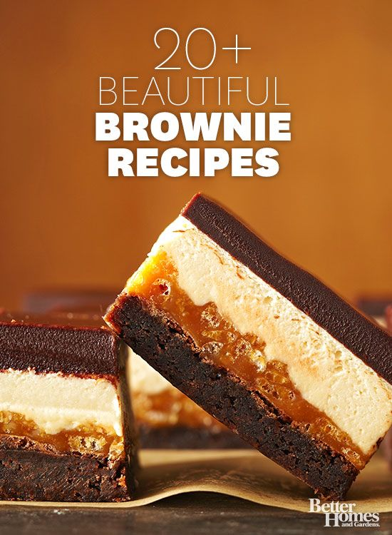 Brownie recipes.