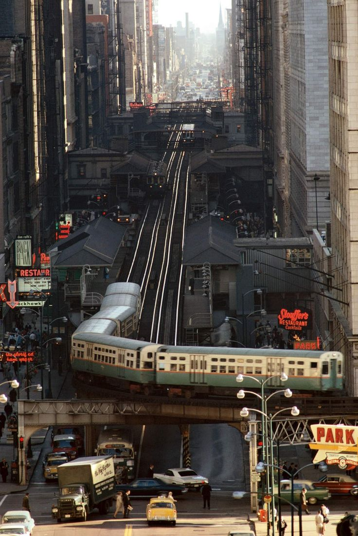Chicago, 1967 Photographer : James L. Stanfield