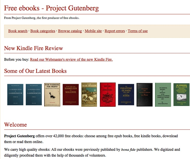 10 best reading comprehension images on pinterest english over 44000 free books from the gutenberg project and theyre all free download fandeluxe Gallery