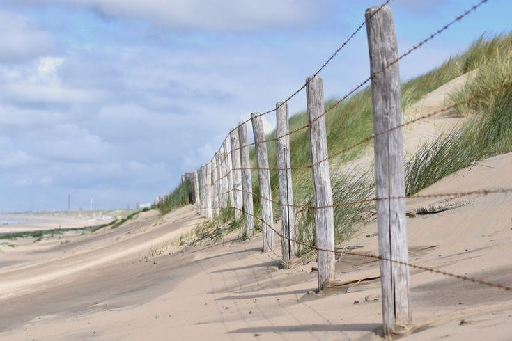 Zaun-Düne-Strand-Campingplatz De Lakens Bloemendaal Niederlande Nordsee