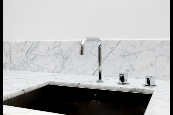 Kok Med Carraramarmor :  marmor  med bonkskiva i Bianco Carrara Marmor For The Home, Carrara