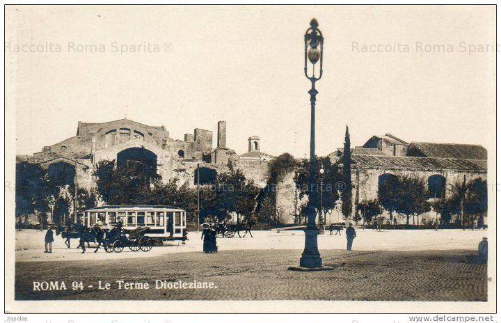 Le Terme di Diocleziano Anno: 1903