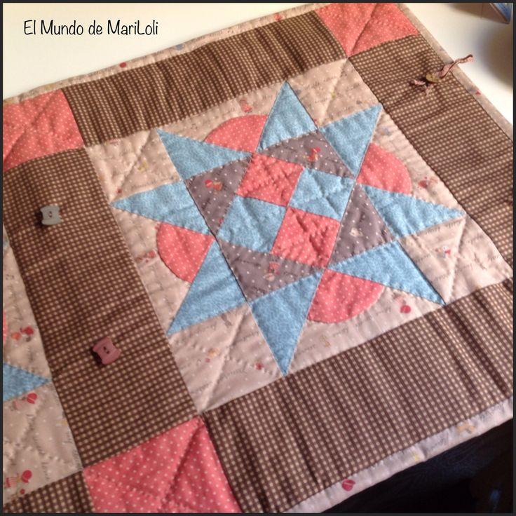 Blog sobre labores de patchwork crochet punto de cruz - Labores de punto de media ...