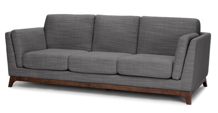 Ceni Pyrite Gray Sofa