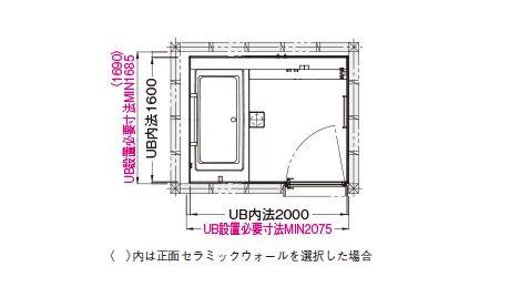 戸建プランGタイプ 1620 | セットプラン例・参考価格 | SYNLA(シンラ) | 戸建・マンション住宅向けシステムバスルーム | 浴室 | 商品を選ぶ | TOTO