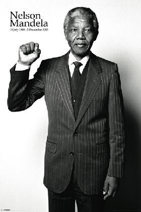 Nelson Mandela - Salute | Motivational | Hardboards | Wall Decor | Plaquemount | Blockmount | Art | Inspirational | Pictures Frames and More | Winnipeg | MB | Canada
