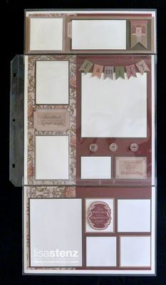 Lisa's Creative Corner: September Creative Club - Huntington Flip Flap Layout