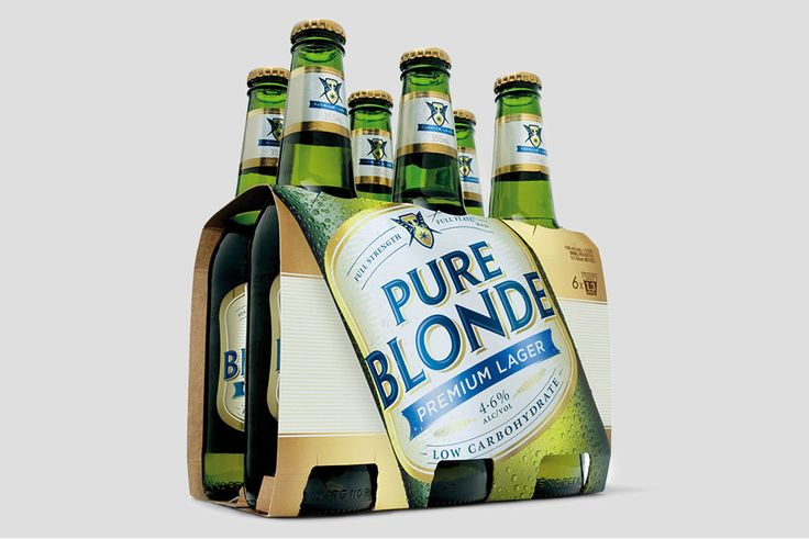 Pure Blonde Six Pack by Hoyne Design