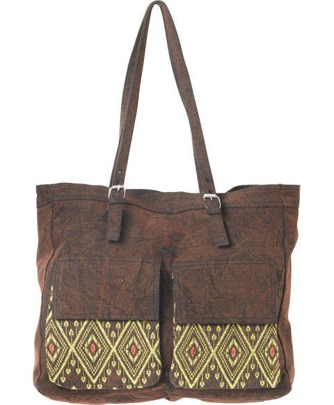 Canvas Traveler Tote Bag | RVCA
