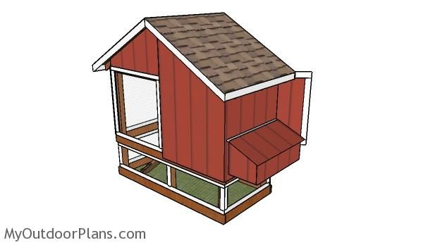 74 best free chicken coop plans images on pinterest for Small chicken coop building plans