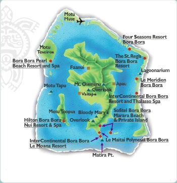 Bora Bora Island Tourism Information from Tahiti Tourisme North America