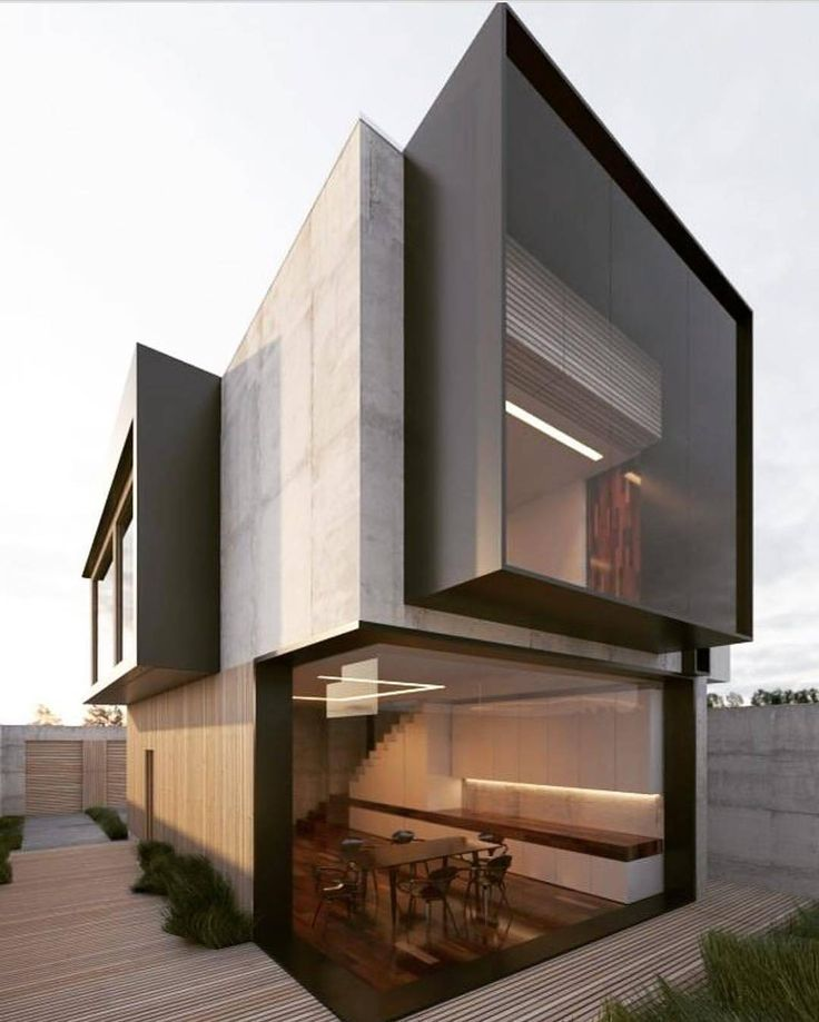 """9,756 Likes, 22 Comments - Amazing Architecture (@amazing.architecture) on Instagram: """"Single family house 100 sq.m by Alexander Neagara #ukraine #3d #render…"""""""