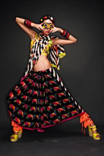 Quirky saris  Masaba Gupta, Satya Paul