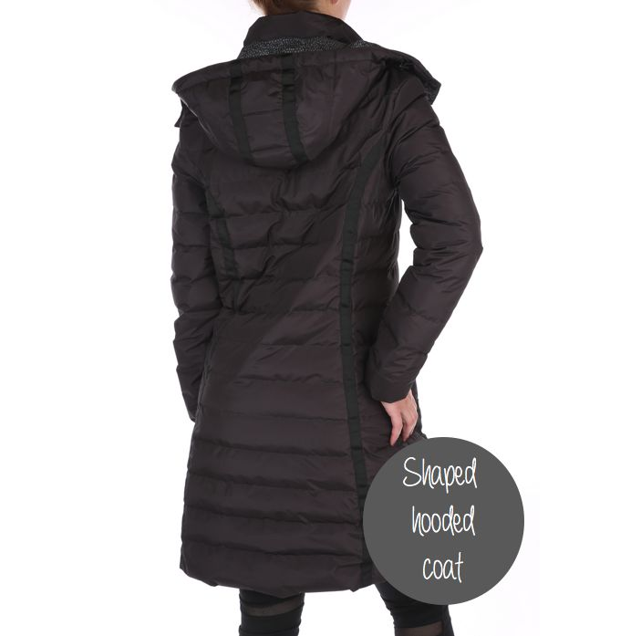 Stay warm with this sporty and functional coat from Pure Lime