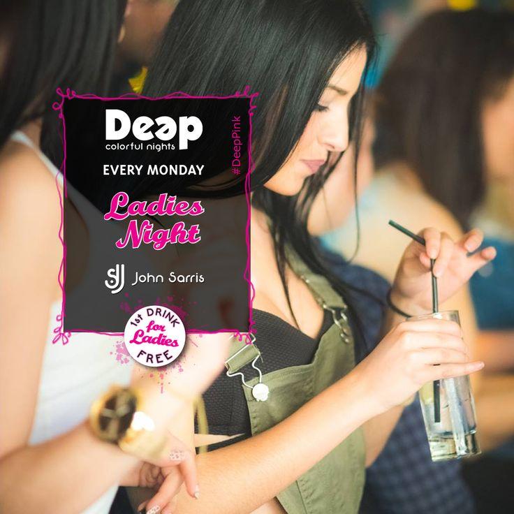 #DeepPink #LadiesNight #MondayNights