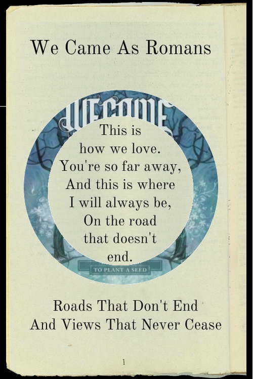 We Came As Romans - An Ever-Growing Wonder Lyrics ...