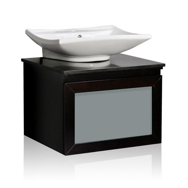 Ariel Bath Wm3 Belmont D Cor Newport Single Vessel Sink Bathroom Vanity At Atg Stores