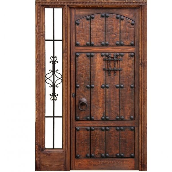 M s de 25 ideas incre bles sobre puertas principales de for Puertas rusticas de madera