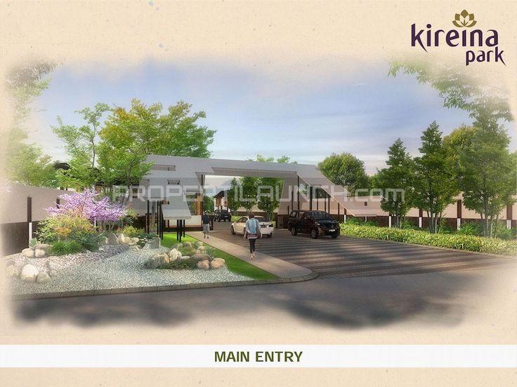 Main Entry / Gate Kireina Park Nusa Loka BSD.