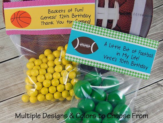 Horse Party Favors Soccer Party Favors by PartyFavorsbyDesign