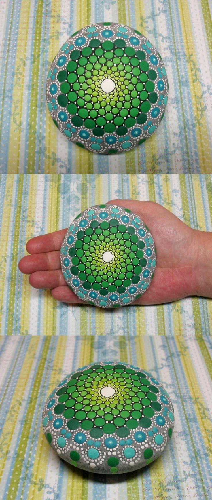 piedra Mandala verde Quiyara Artwi