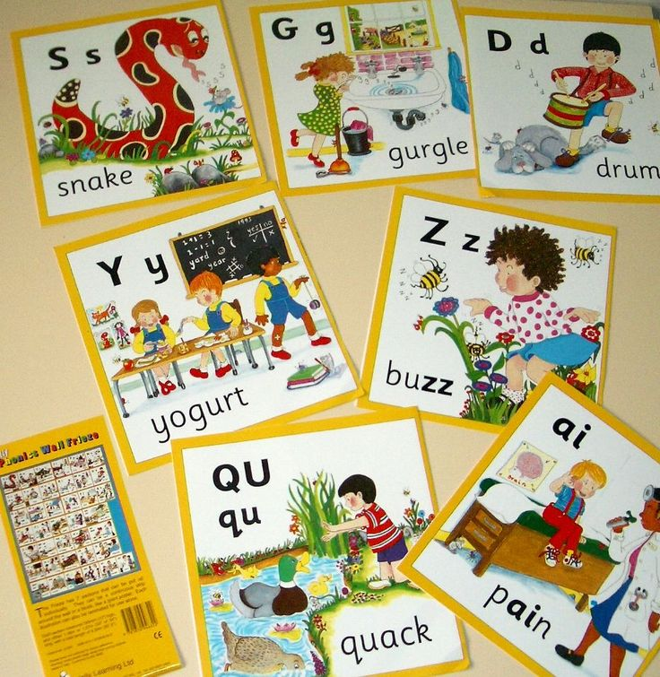 ideas for jolly phonics' lessons