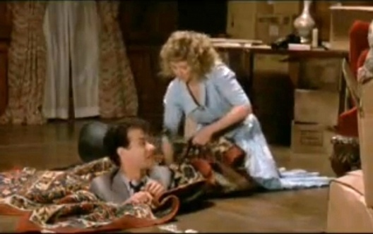 The Money Pit, I howled with laughter at this bit, and love Tom Hanks, and Shelly Long.